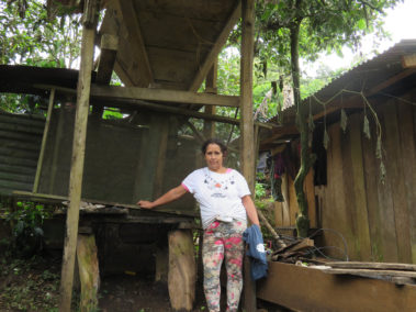 Norma Andrea_wet mill, with no place for ferment the coffee
